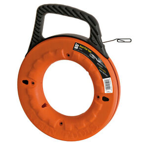 Klein Tools 56002 Depth Finder High Strength 1 8 inch Wide Steel Fish Tape