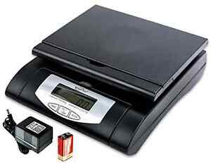 Weighmax 75 Lbs Digital Shipping Postal Scale Black w 4819 75 Black
