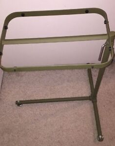 Military Mash Green Surgical Instrument Tray Stand 6530 00 551 8681 Good Cond