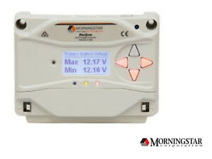 Morningstar Prostar Ps 30m Pwm 30a Charge Controller With Display 12 24v Gen3