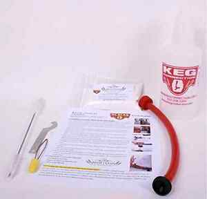 Keg Beer Line Cleaning Kit Draft Tap System Bottle Kegerator Kegconnection Kegco