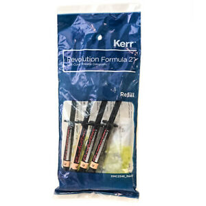 Kerr Revolution Formula 2 Flowable Composite A2 Blue Box 4 Pack