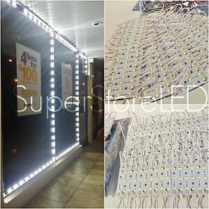 100ft Storefront Window 200x White Led Light 5050 No Power Supply U s Seller