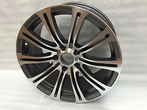 Silver 18 Staggered M3 Wheel Rims F10 Fits Bmw 5 Series Xdrive 535i 550i 535xi