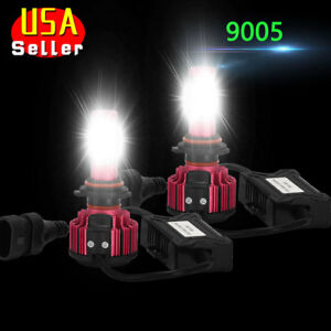 Combo Cob 9006 9005 Led Headlight Bulbs High Low Beam 240w 20000lm 6000k White
