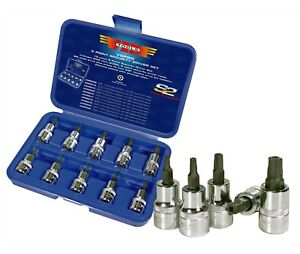 10pc 5 Point Torx Security Driver Set Sd8 To Sd50 Set Vim Products V5psd