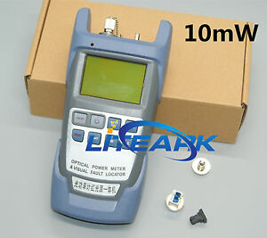 All in one Fiber Optical Power Meter And 10mw Visual Fault Locator 10km Cable 50