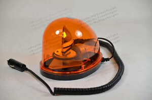 Magnetic Teardrop 12v Rotate Beacon Amber Warning Truck Forklift