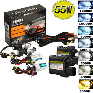 55w Hid Xenon Headlight Conversion Kit Bulbs H1 H3 H4 H7 H11 9005 9006 880 881