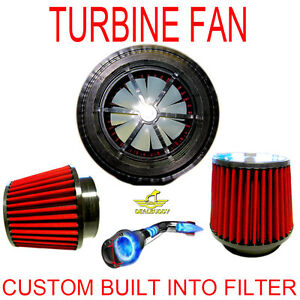 Chevrolet Performance Turbo Air Intake Cone Filter With Free Supercharger Fan