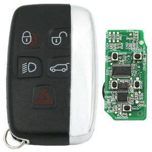 New For Land Rover Range Rover Sport Evoque 5 Button Remote Key Fob 315mhz