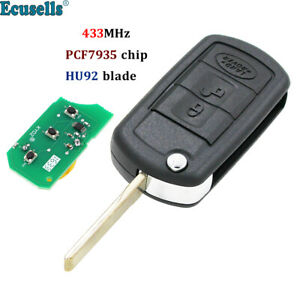 Replacement For Land Rover Range Rover L322 Hse Vogue 3 Buttons Remote Key433mhz