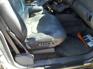 95 99 Chevy Surburban 1500 Gmc Tahoe Grey Passenger Side Left Power Seat Track