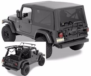 Bestop Supertop Nx Full Soft Top Kit W Frame Hardware 04 06 Jeep Wrangler Lj
