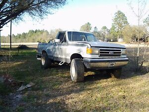 1990 Ford F 150 4x4 Short Bed Four Inch Body Lift 300 6 Automatic Trans On 35s