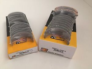 Ford Sbf 289 302 5 0l V8 Mustang Car Truck 1963 2001 Main Rod Bearings Set