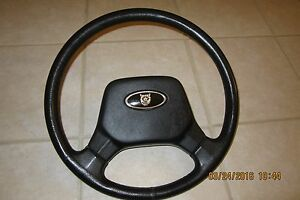 Jaguar Xjs Xj6 Steering Wheel Vintage Horn And Badge