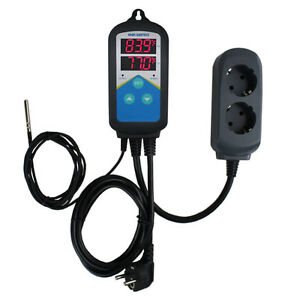 220v Aquarium Fermenting Digital Temperature Temp Controller Thermostat Timer