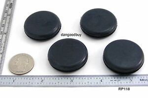 24 Rubber Plugs Grommets Without Hole Solid Grommet 1 1 8 Diameter