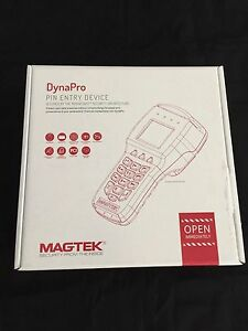 Magtek 30056028 Dynapro Pin Entry Device Usb Credit Card Payment Terminal Black