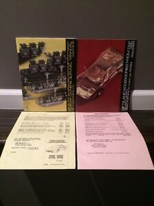 Ferrari Parts Catalog Faf Motor Car Book Prices_maserati Section_vintage 1988