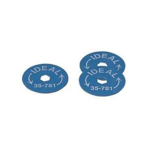 Ideal Rotary Armor Cable Cutter Replacement Blades 5 Per Package