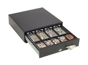 Mmf Cash Drawer Val u Line 13w X 14d X 4h Manual Touch Release 4 Bill 5 C
