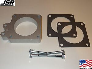 86 93 Mustang Gt Or Lx 5 0 Throttle Body Egr Spacer Delete Plate Kit 1in X 80mm