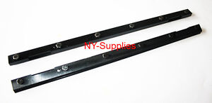 Brand New Pair Of Steel Blanket Bars For Heidelberg Gto 52 Offset Printing Press