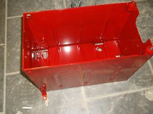 Ih Farmall Super M Super Mta Battery Box under Seat W mounting Legs 358693r91