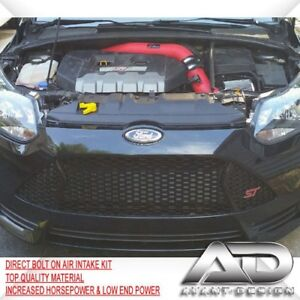 For 2013 2017 Ford Focus St 2 0l 2 0 Turbo Af Dynamic Cold Air Intake Kit Red