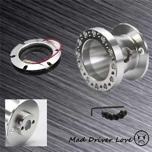 New Style Racing Steering Wheel Hub Adapter Cnc 1 Pc Alum For Mazda Miata Rx7