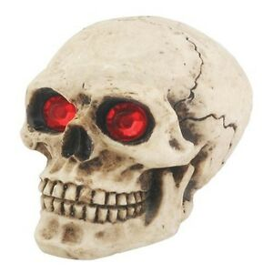 Red Eyes Skull Universal Car Shift Knob For Stick Manual Shifter Hot Rod Custom