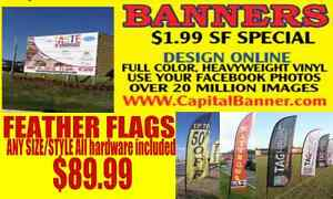 Heavyweight 3x6 Foot Full Color Vinyl Custom Outdoor Banner We Sell The Best
