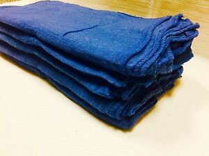 2500 Pack Industrial Commercial Blue Shop Cleaning Towel Rags 13 x14