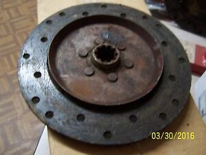International Farmall H O4 w4 Tractor Clutch Disc