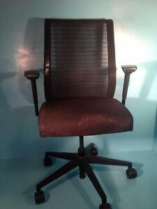 Black Steelcase Think Office Chair