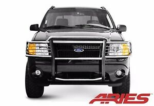 Aries 3052 2 2002 2005 Ford Explorer Stainless Grill Brush Guard Push Bar