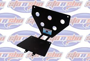2007 2009 Ford Mustang Shelby Gt500 Removable Front License Plate Bracket