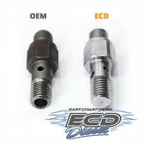 6 4l Ford Powerstroke Diesel Fuel Return Fitting On Injection Pump hpfp