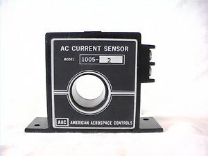 1 New American Aerospace Controls Ac Current Sensor 1005 2 0 2 Amps In 0 5vdc