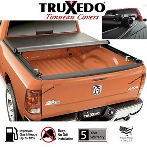 Truxedo 245901 Truxport Tonneau Cover Roll Up 09 18 Dodge Ram Crew Cab 5 7 Bed