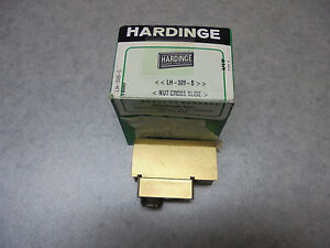 Hardinge Cross Slide Nut For Hlv h Or Tfb lh 328 s New Old Stock