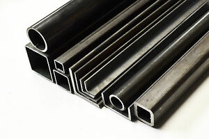 4 Pieces 3 X 2 X 1 4 X 24 A36 Mild Steel Steel Angle Iron Ships Ups