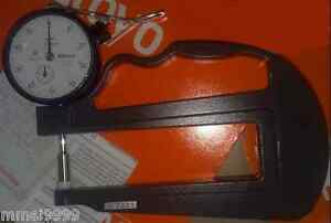 1 Pcs New Mitutoyo 7321 Dial Thickness Gage 0 10mm Range