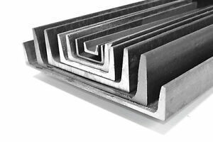 2 X 1 X 3 16 Channel Iron Mild Steel 4 Pieces 24 A 36 Ups Shipping