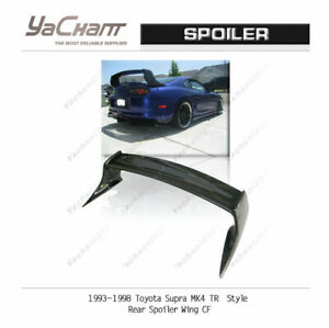 Carbon Rear Wing Fit For 1993 1998 Toyota Supra Mk4 Tr Style Rear Spoiler