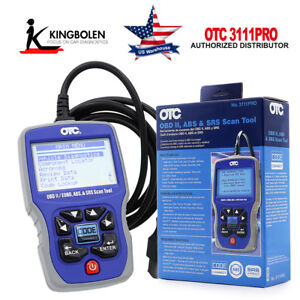 Otc 3111pro Obd Ii Can Scan Tool Abs Srs Car Truck Diagnostic Tool Fit For Gm