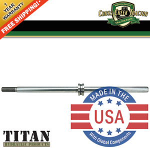 E3nn3a747aa New Ford Tractor Steering Cylinder Shaft For 5610 6610 7610 7810