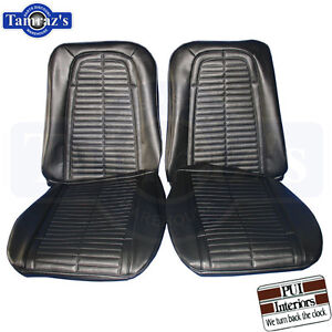 Firebird Seat Covers Upholstery 1967 Standard Deluxe 1968 Standard Pui New